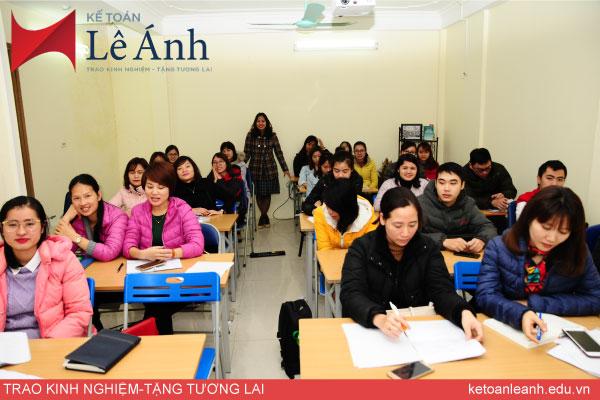 học kế toán thực hành tại hà nội ở trung tâm kế toán Lê Ánh