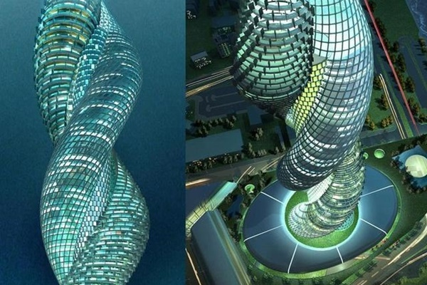 Những kiến trúc độc lạ trên thế giới