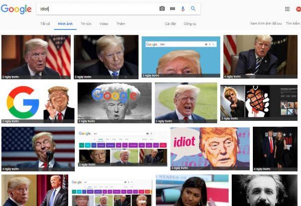 Kết quả tìm kiếm google cho từ khóa Idiot