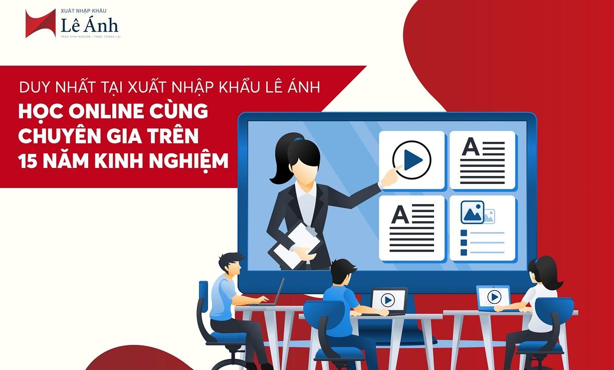 học xuất nhập khẩu online Lê Ánh