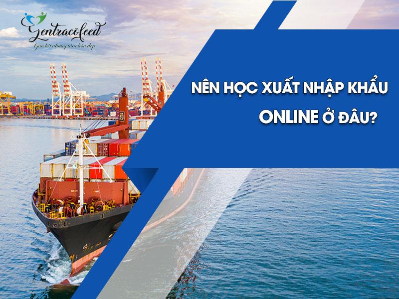Nên học xuất nhập khẩu online ở đâu?