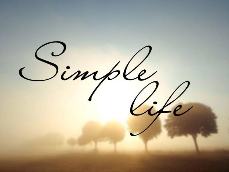 cuộc sống giản đơn