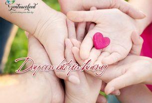 Dạy con biết yêu thương
