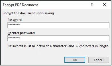 Cách đặt pass file PDF