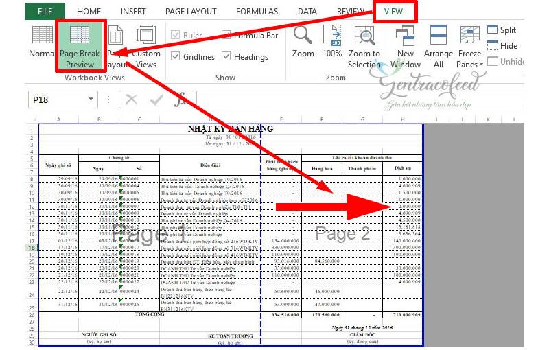 Chuyển file Excel sang PDF giữ nguyên định dạng